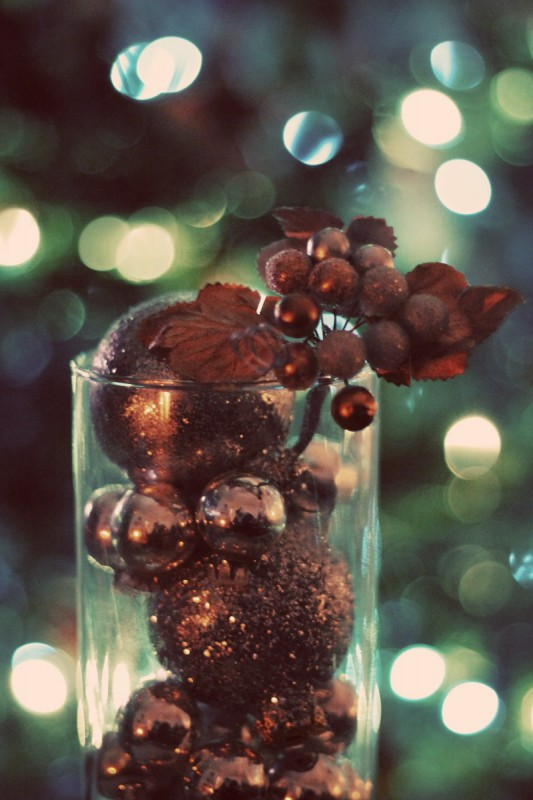 Ornaments in a Vase 1