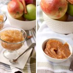 Maple Applesauce and Apple butter