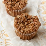 Peanut Butter and Jelly Streusel Muffins