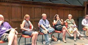 Navigating Academia roundtable, photo: Emily Contois