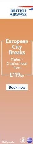 British Airways Sky Scraper Banner Advert