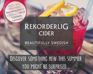 Rekorderlig Discover Something New This Summer Recipe Card - Front