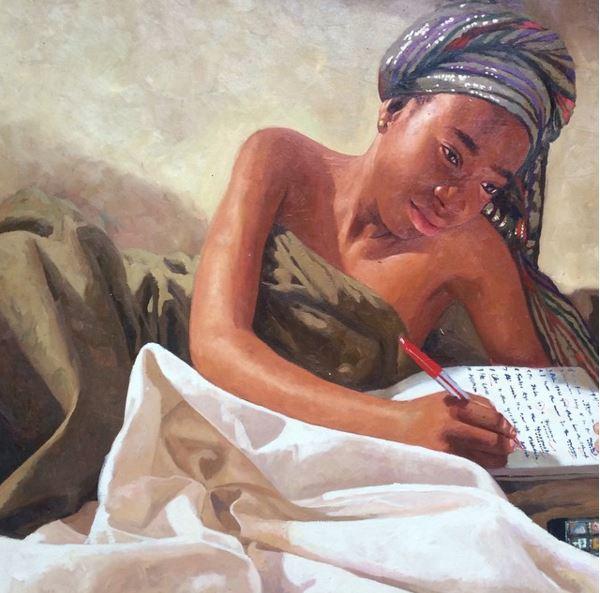 Olumide Oresegun's paintings 6