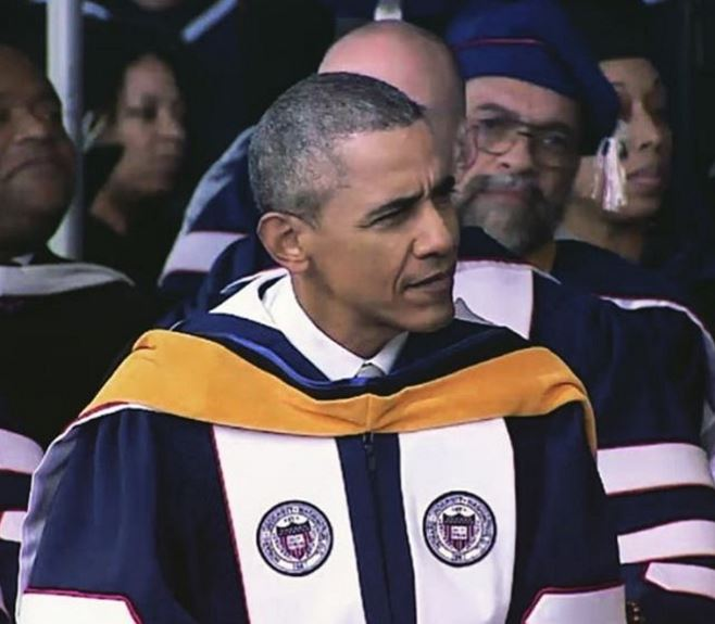 Howard University With President Obama