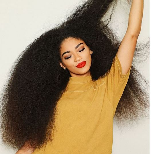 heat style natural hair