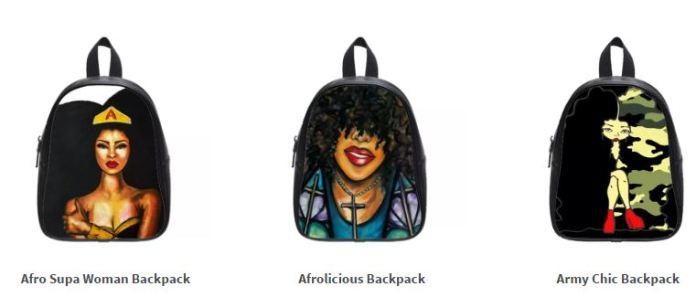 Natural Hair Backpacks