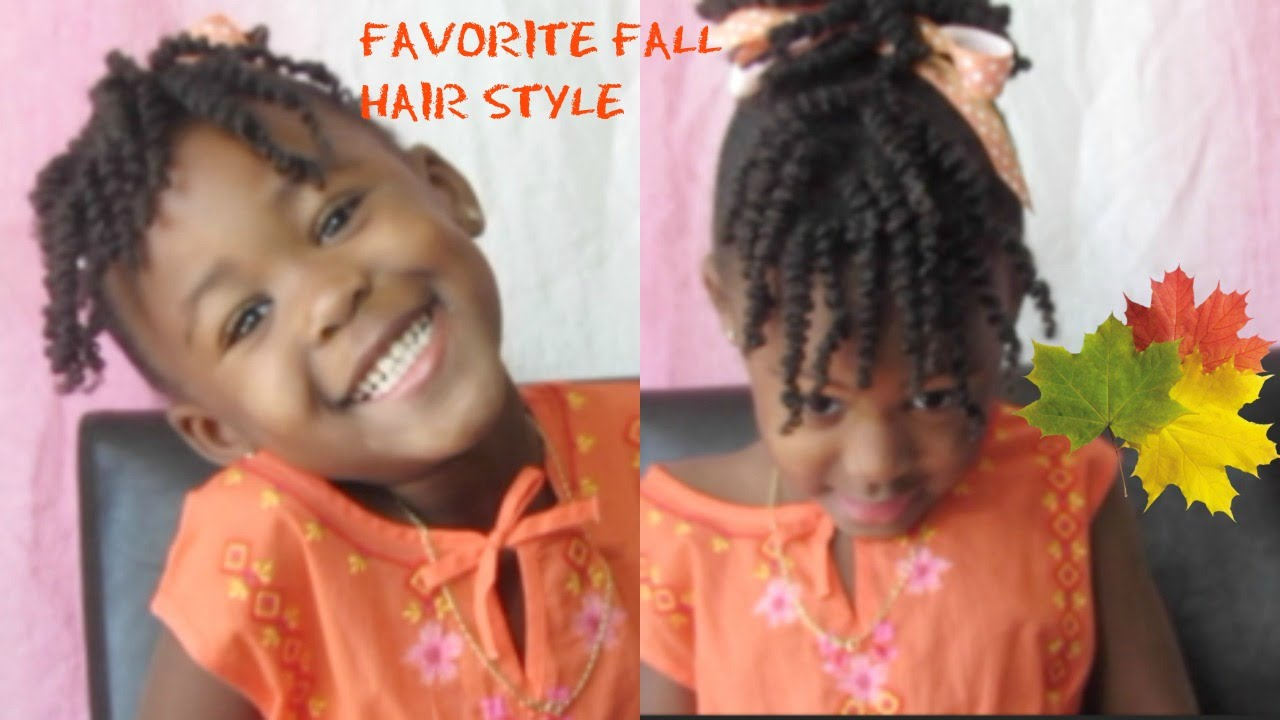 A Cute Fall Hairstyle For Kids With Princess Amani Emily Cottontop