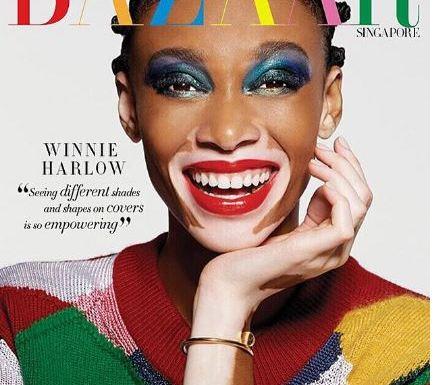 Winnie Harlow Harper Bazaar