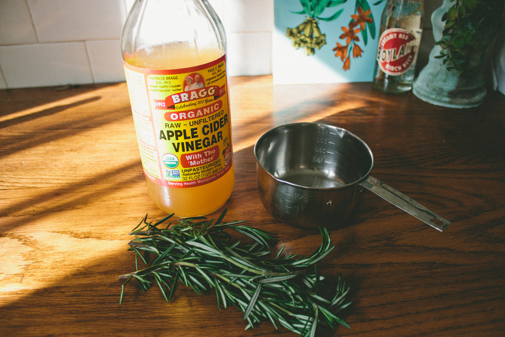 rosemary herbal tea rinse