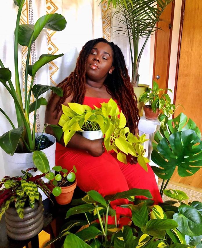 Black Girls With Gardens
