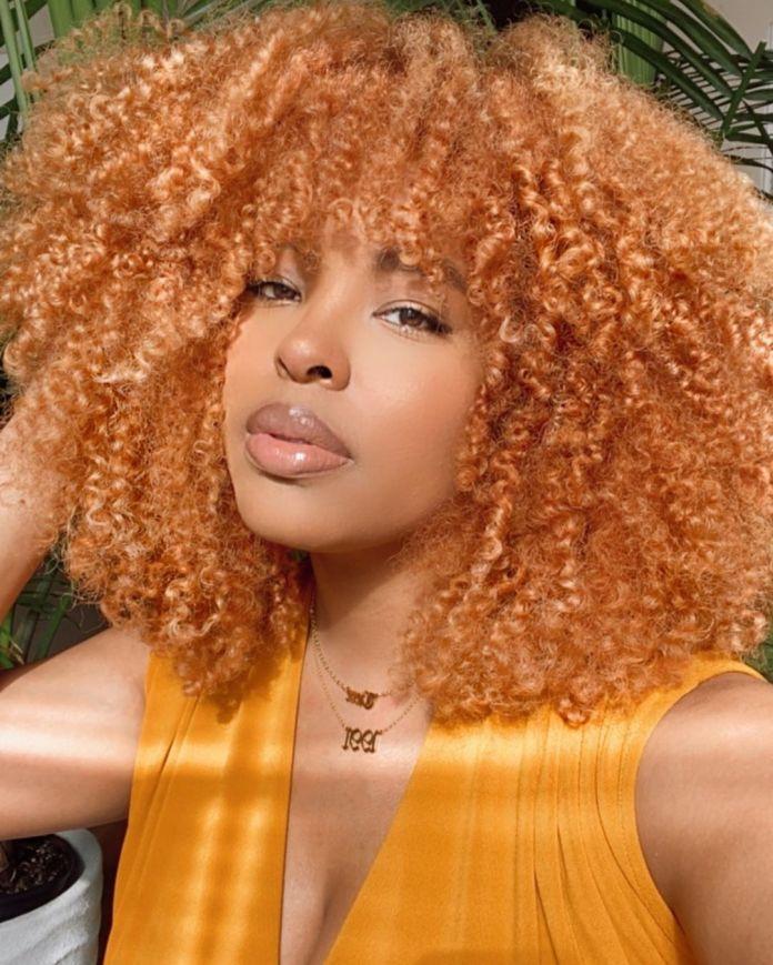 ginger natural hair