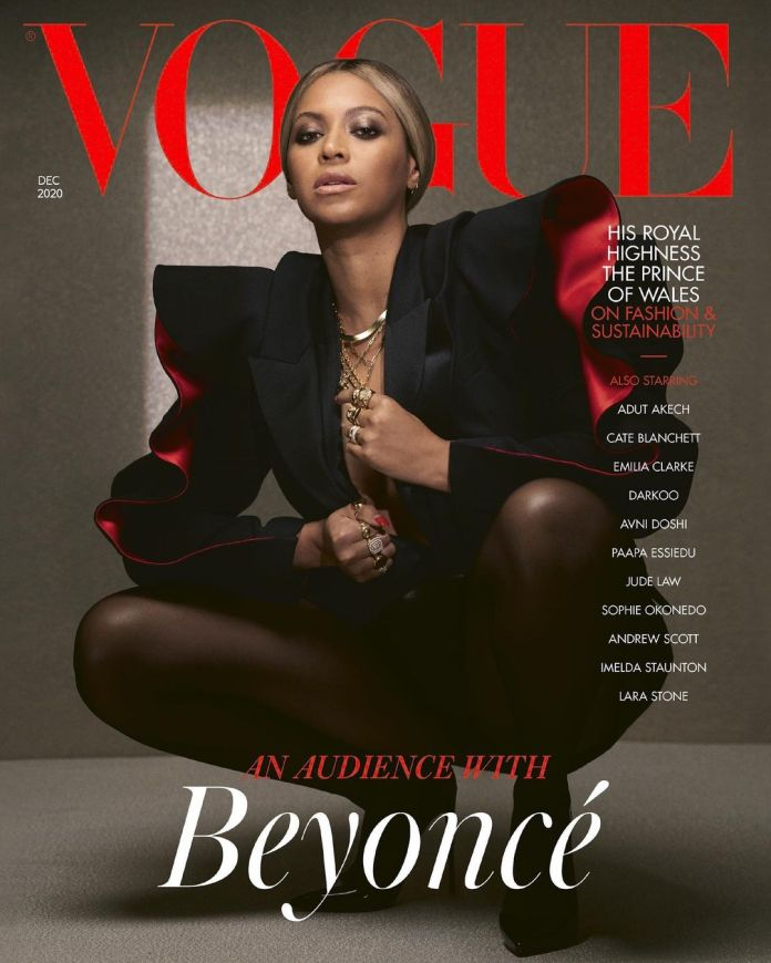 Beyonce Is On The Cover Of British Vogue 2020