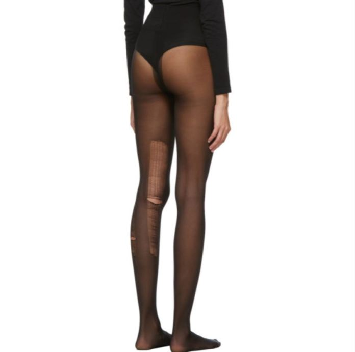 Gucci Distressed tights being sold
