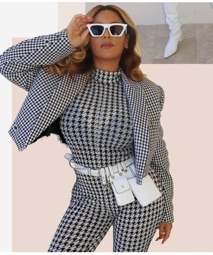 Beyonce on new years