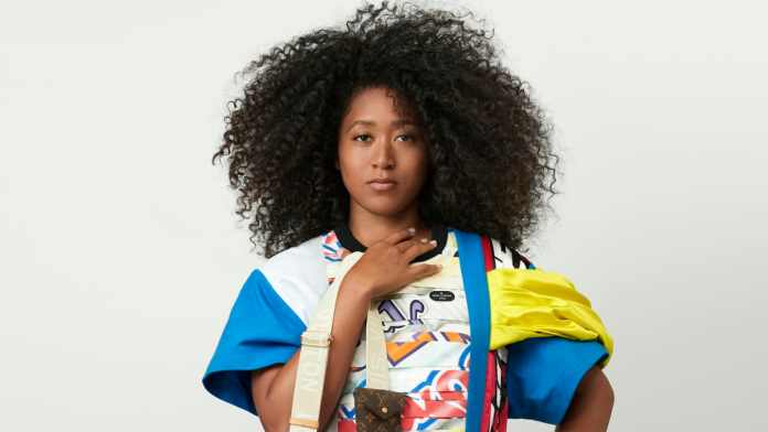Naomi Osaka for Louis Vuitton