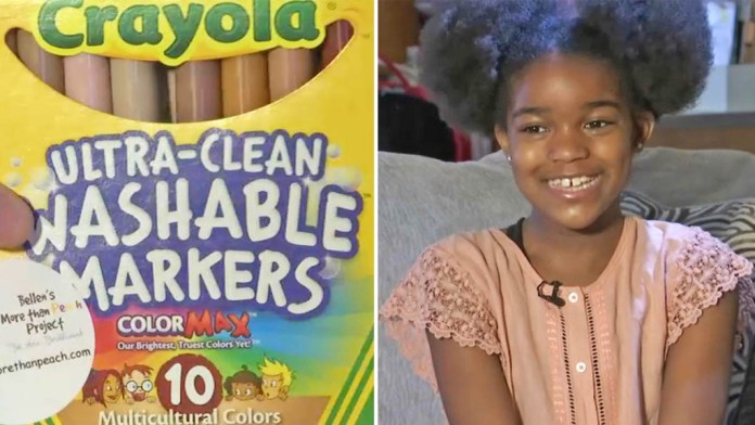 10-Year-Old Black Girl Launches Crayon Line for Brown Skin Tones