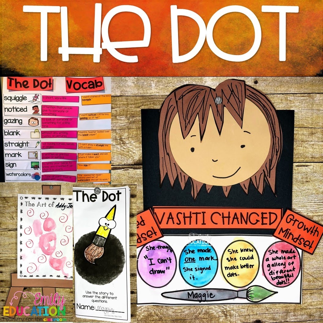 The Dot Activities The Dot Day Peter Reynolds