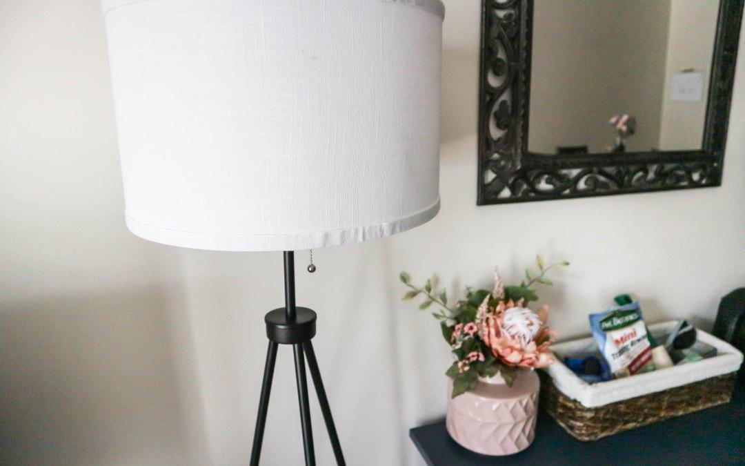 CHEAP TRIPOD FLOOR LAMP