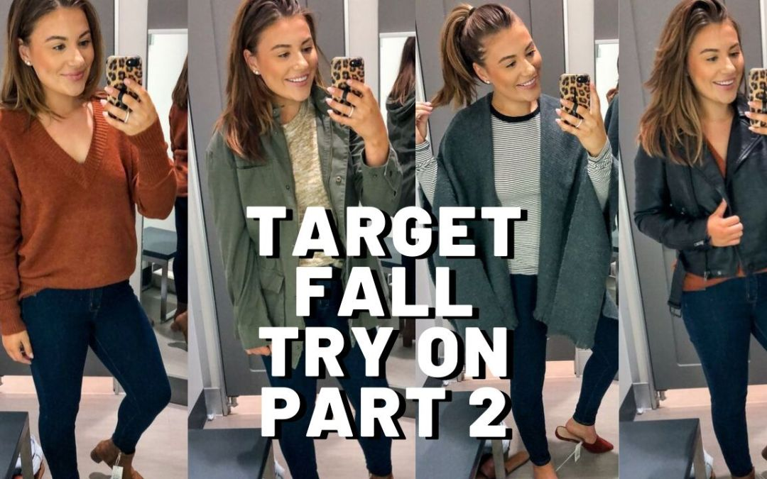HUGE TARGET CLOTHING TRY ON PART 2