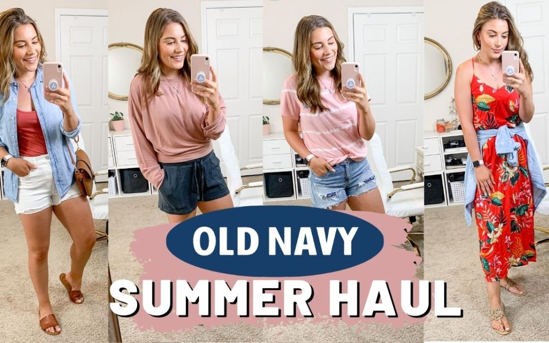 OLD NAVY SUMMER TRY ON CLOTHING HAUL 2020