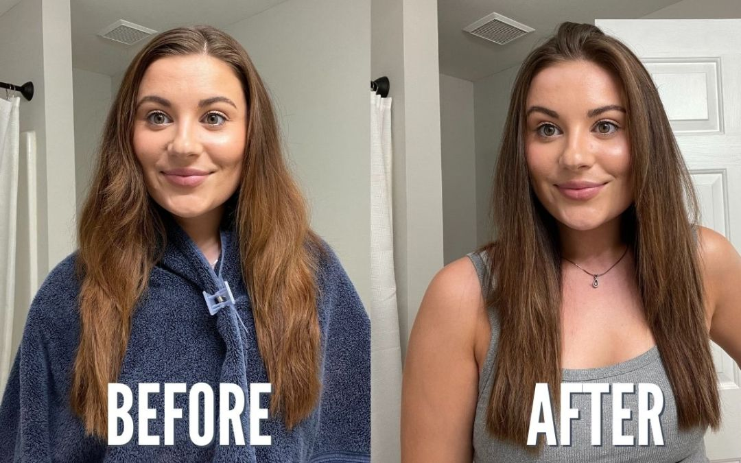 EASY WAY TO TONE & TRIM HAIR AT HOME