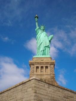 The Statue of Liberty, NY.