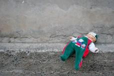 Abandoned doll, Novi Pazar.