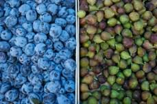 Plums and figs, Novi Pazar pijaca