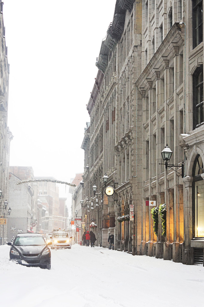 Old Montreal Streets