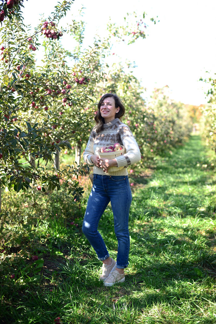 Apple Picking at Spirit Tree
