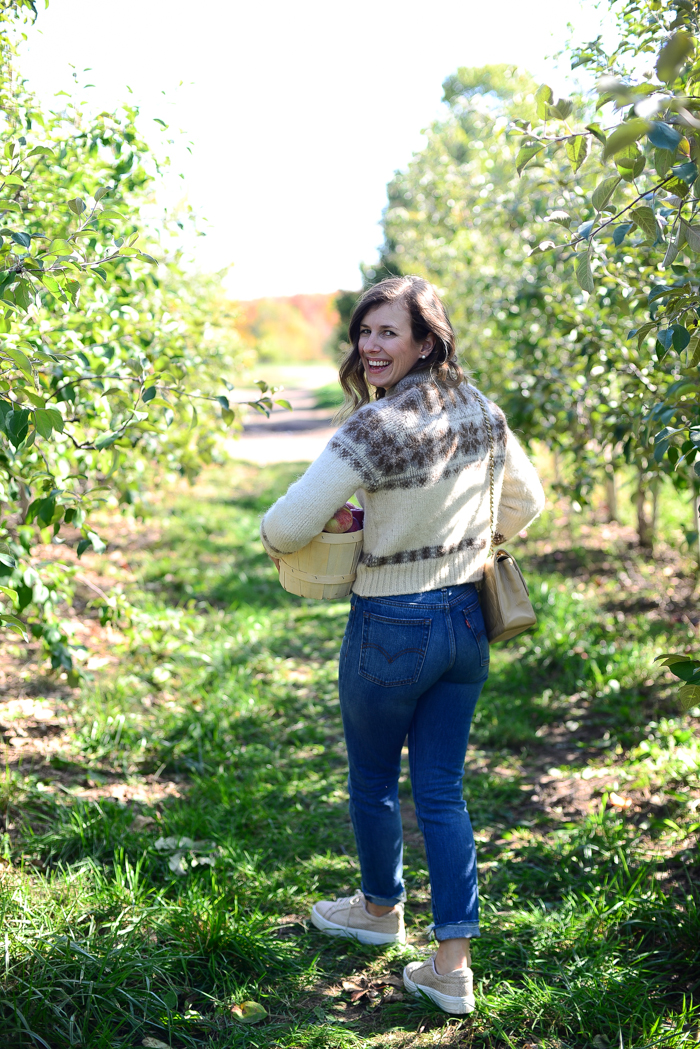 Apple Picking at Spirit Tree