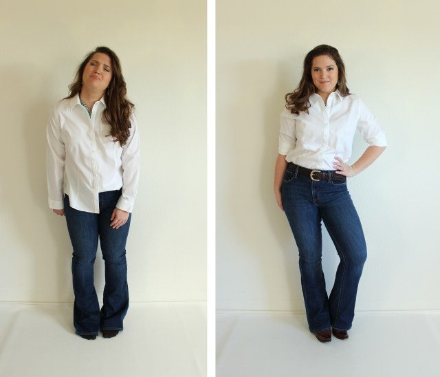 How To Hem Jeans via Emily Hallman Designs