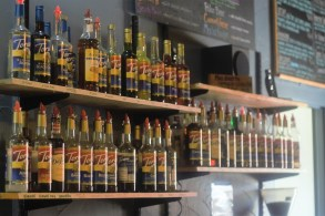 Kaya offers a wide variety of coffee and tea flavors.