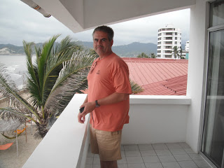 Scott on balcony