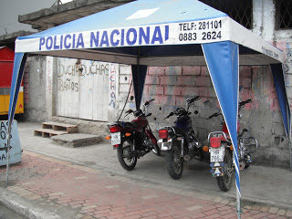 Pedernales police sub station