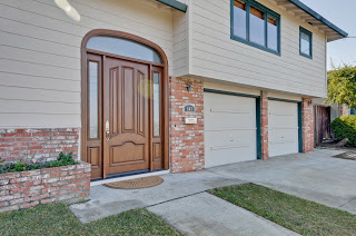 Entry door with curb appeal