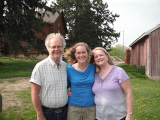 Emily with Mom and Dave