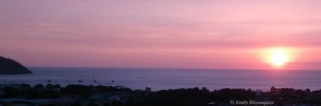 August 5 sunset