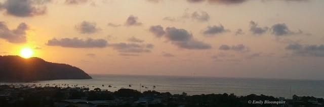 November 9 sunset