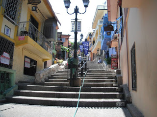 Guayaquil's Las Peñas 444 numbered stairs