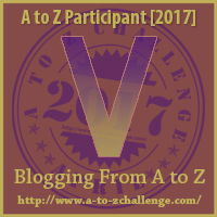 2017 A to Z Challenge - V