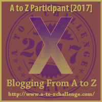 2017 A to Z Challenge - X