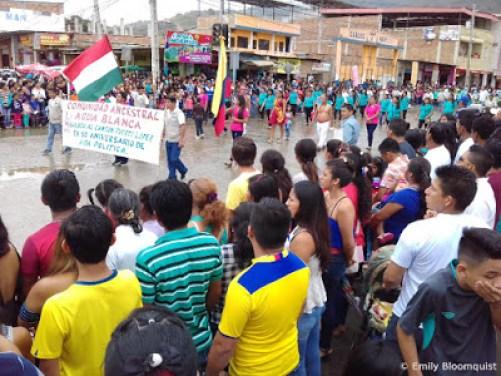 Parade participants