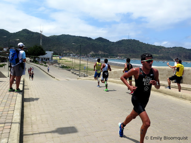 Triathlon bridge