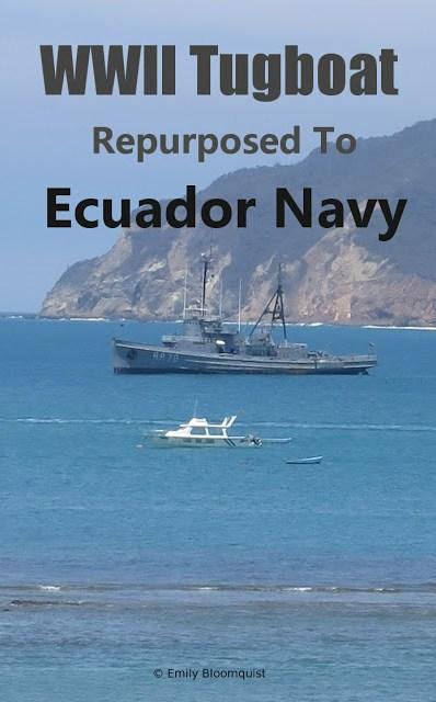WWII Tugboat repurposed to Ecuador Navy
