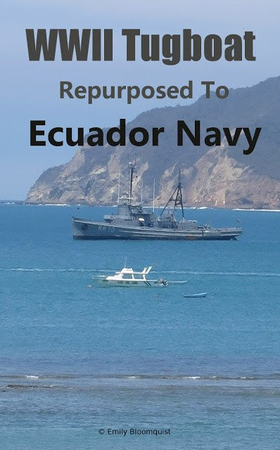 WWII Tugboat repurposed to Ecuador Navy