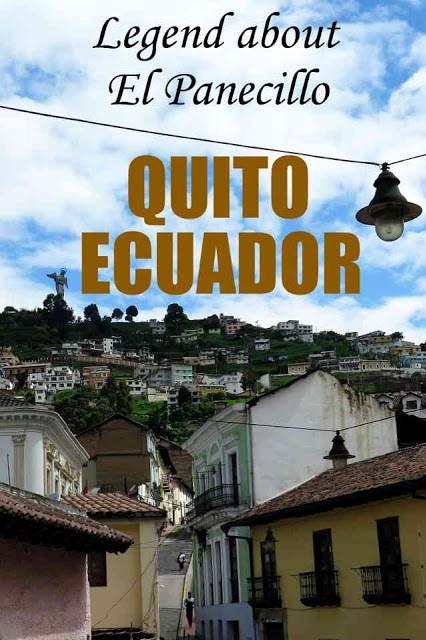 Legend about El Panecillo in Quito, Ecuador