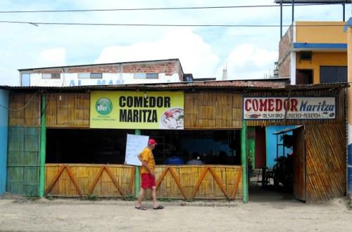 Comedor Maritza in Puerto Lopez, Ecuador