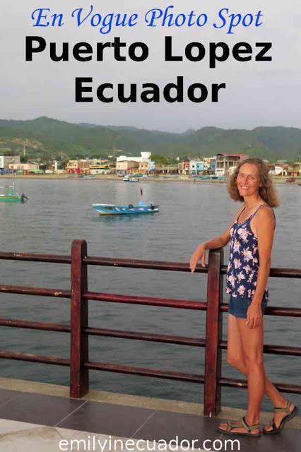 En vogue photo spot in Puerto Lopez Ecuador