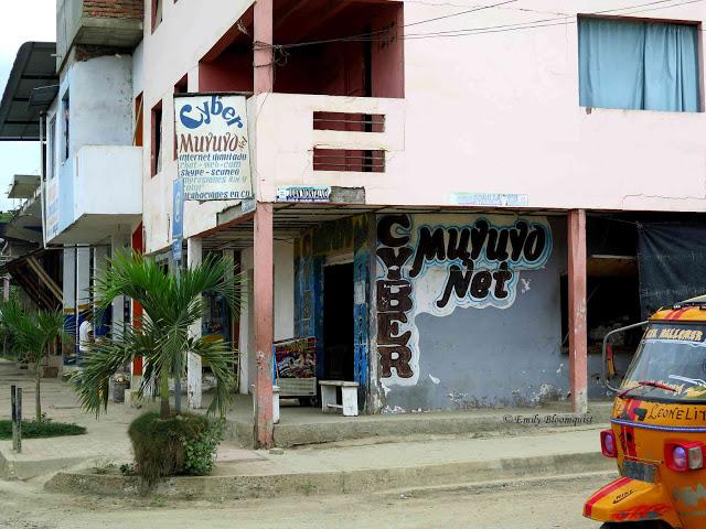 Cyber Muyuyo internet cafe, Puerto Lopez, Ecuador